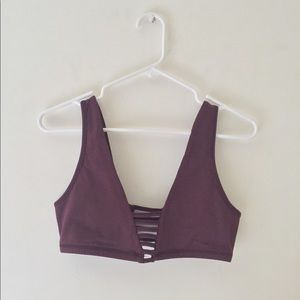 New | Urban Outfitters | Deep V Bralette